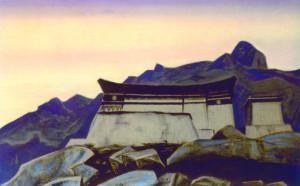 Nicholas Roerich - Castle of King Gezar (1929)