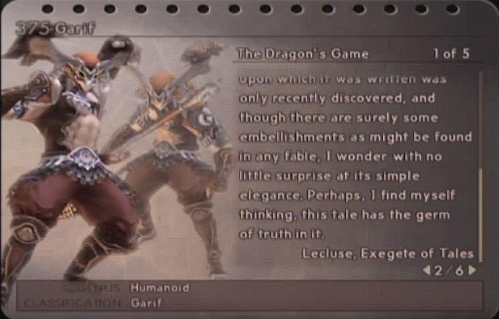 final fantasy XII garif