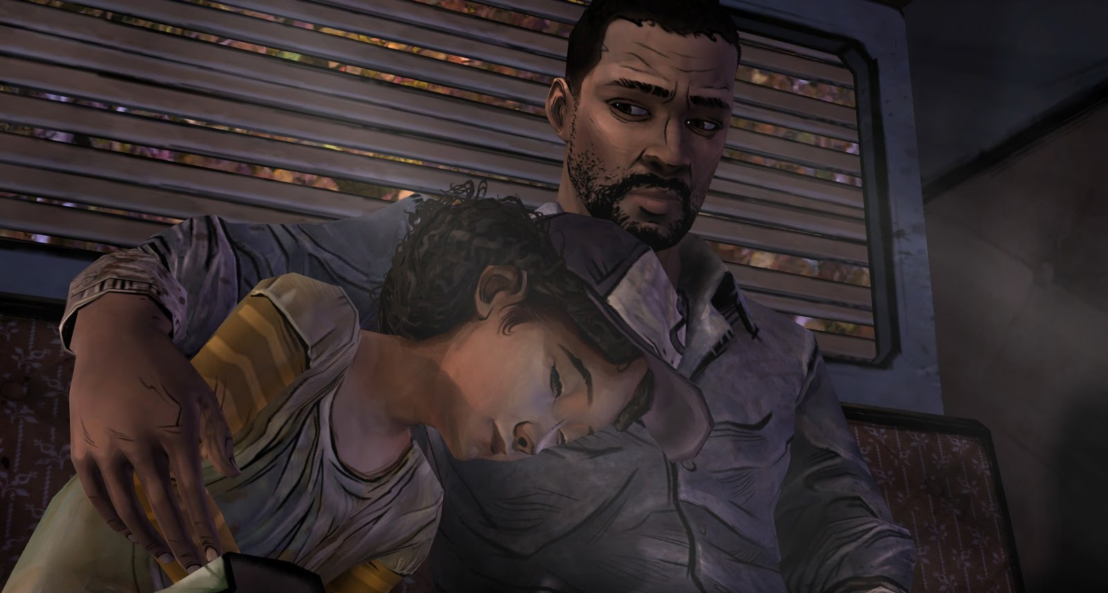 Lee and Clementine