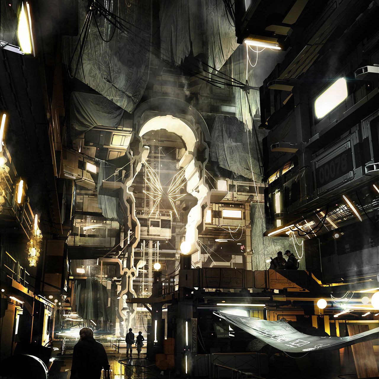 Deus Ex: Mankind Divided's Golem Ghetto