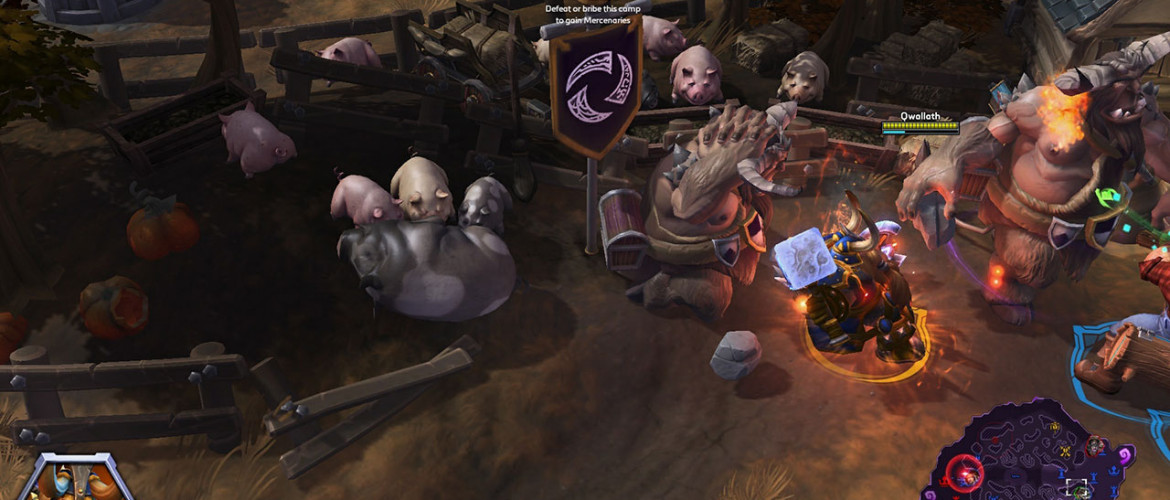 The game has its share of toxic players, but those pigs are damn cute.